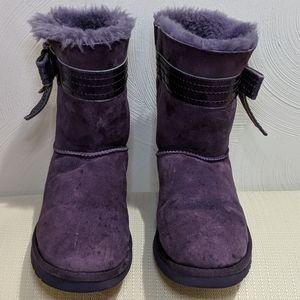 UGG purple boots